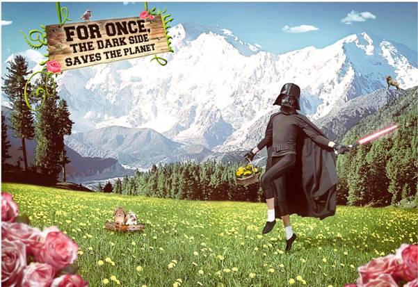 Pour une fois, le Côté Obscur sauve la planète