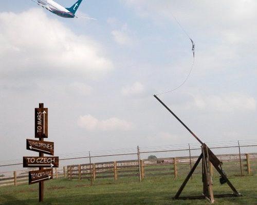 Avion catapulté - catapulte Airline