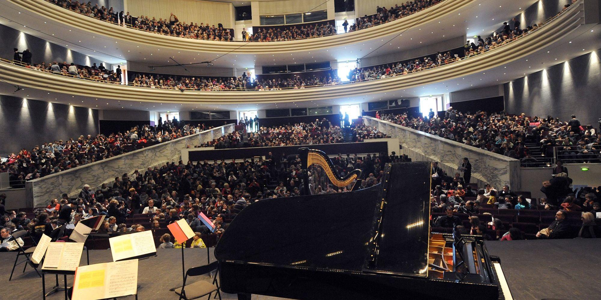 Un spectacle comem cadeau de Noël ? (la Folle Journée, - Grand Auditorium -Palais des Congrès de Nantes)